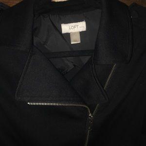 Loft -waist length, soft black jacket! Worn once